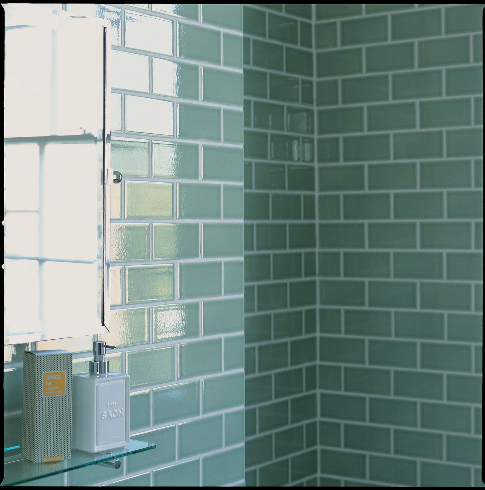 Bathroom tile designs.