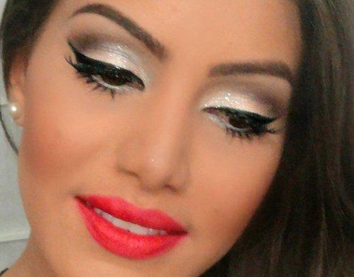 Maquiagem para formatura glamourosa