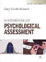 toko buku rahma: buku HANDBOOK OF PSYCHOLOGICAL ASSESSMENT, pengarang gary groth-marnat, penerbit pustaka pelajar