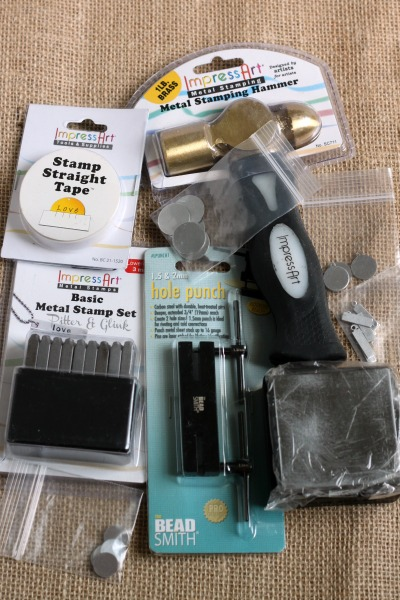 Metal Stamping Supplies for the Beginner pitterandglink.com