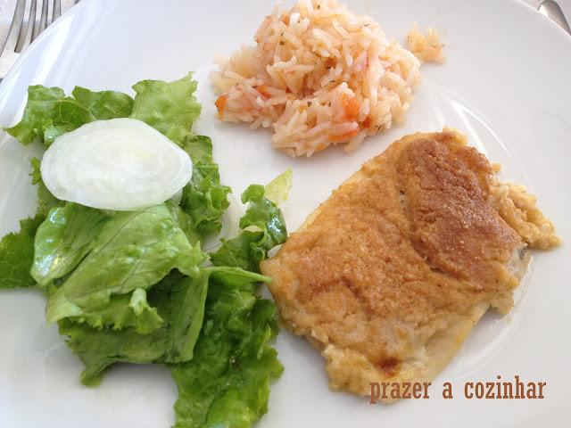 prazer a cozinhar - filetes de solha gratinados