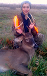 Nico's first buck