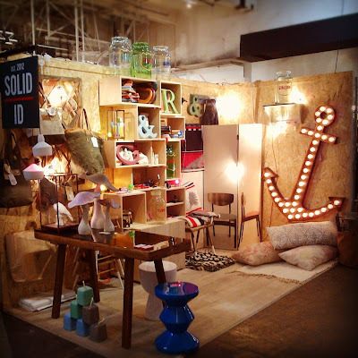 Solid ID stand at Design Junction 2012