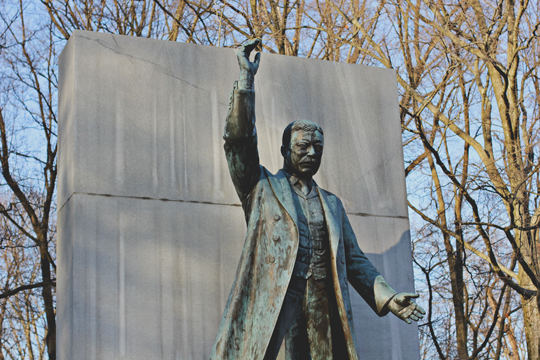Theodore Roosevelt monument