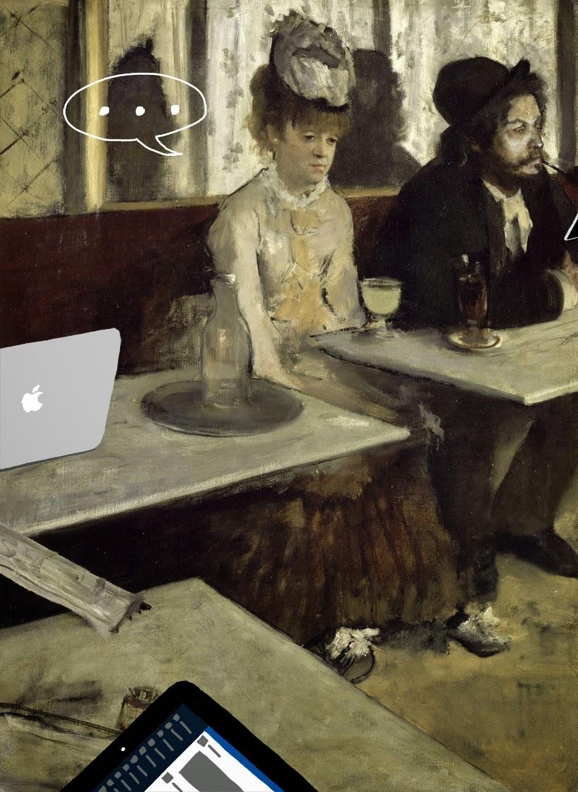 Эдгар Дега Абсент (1876)