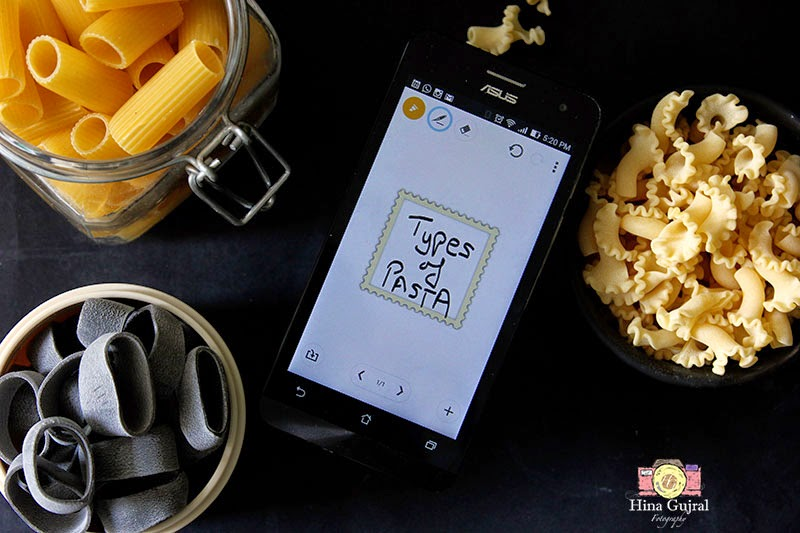 Good Read Article #5 - Pasta Demystified with Asus Zenfone 5