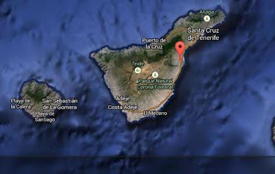 Se registra en Güimar terremoto 3 grados, Tenerife, Canarias