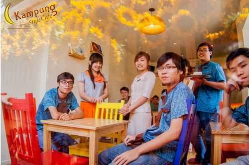 Khám phá ẩm thực Malaysia tại Kampung Style Café, am thuc malaysia, mon ngon malaysia, kampung café, café hoa huong duong, quan café, café binh dan, café may lanh, café dep, dia chi am thuc, diem an uong ngon, com trua van phong