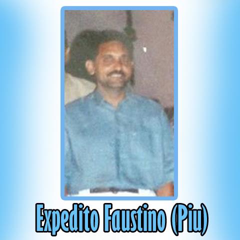 EXPEDITO FAUSTINO (PIU) 06 ANOS DE VIDA ETERNA