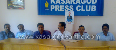 Dist-Co-operative-Bank-Employees-Federation Press conference, Kasaragod