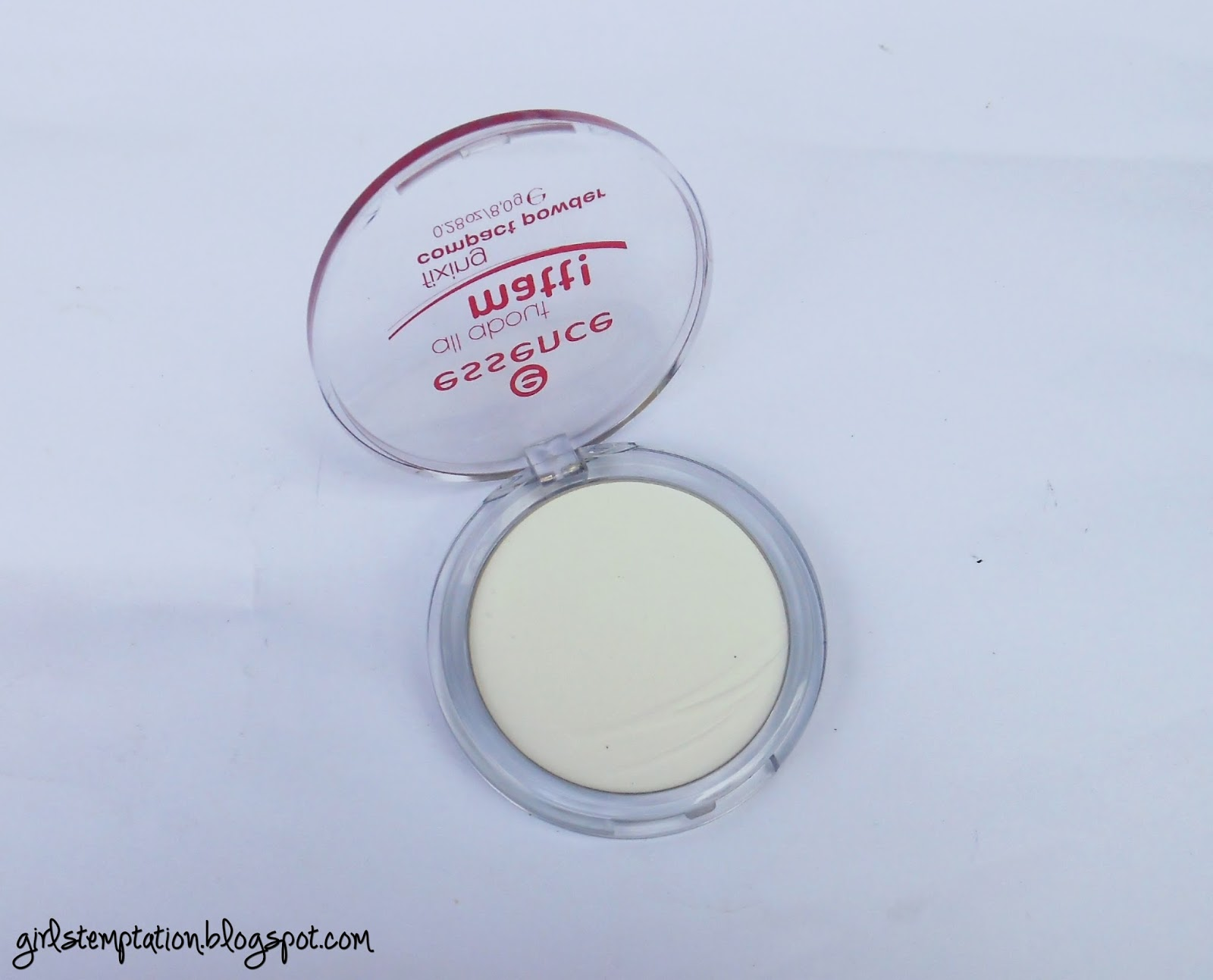Essence All About Matt! Fixing Compact Powder (Review) (РЕВЮ)