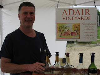 Adair Vineyards Display
