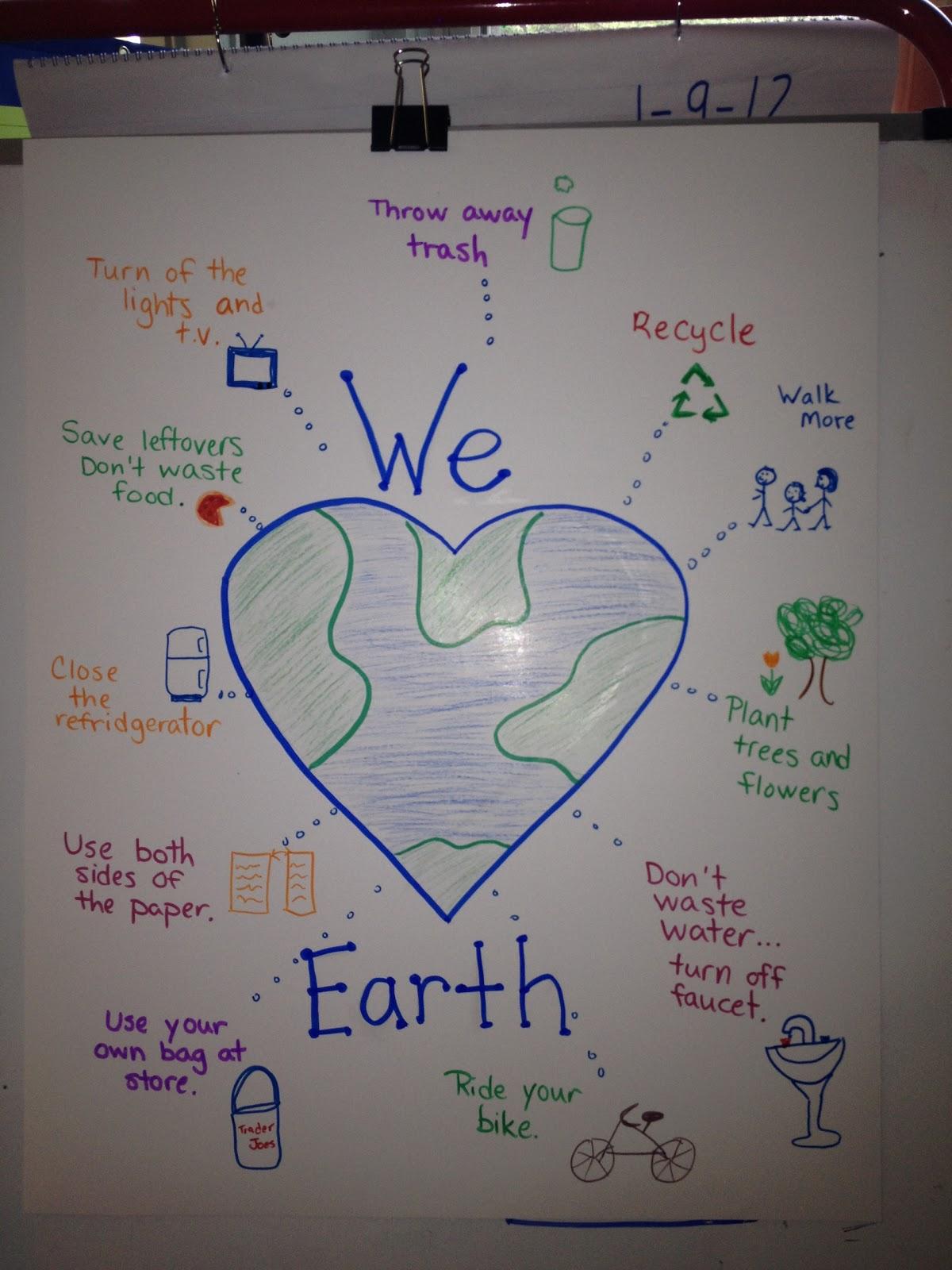 Mrs Goffs Pre K Tales Happy Earth Day