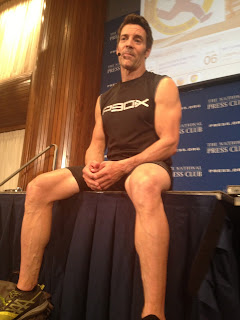 National Press Club sponsored a workout by Tony Horton