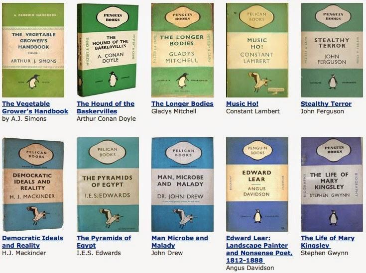 The Frivolous Bibliophile: The Penguin Books Color Code