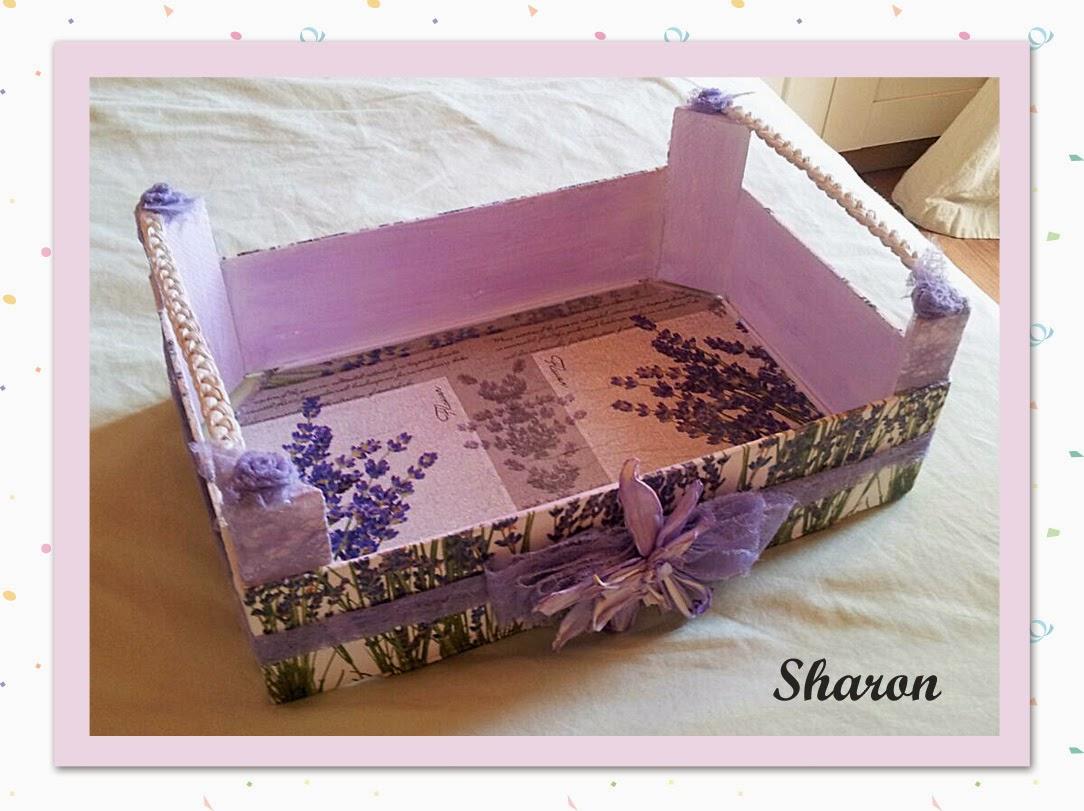 Las manualidades de sharon cajas de fresas recicladas - Manualidades cajas decoradas ...