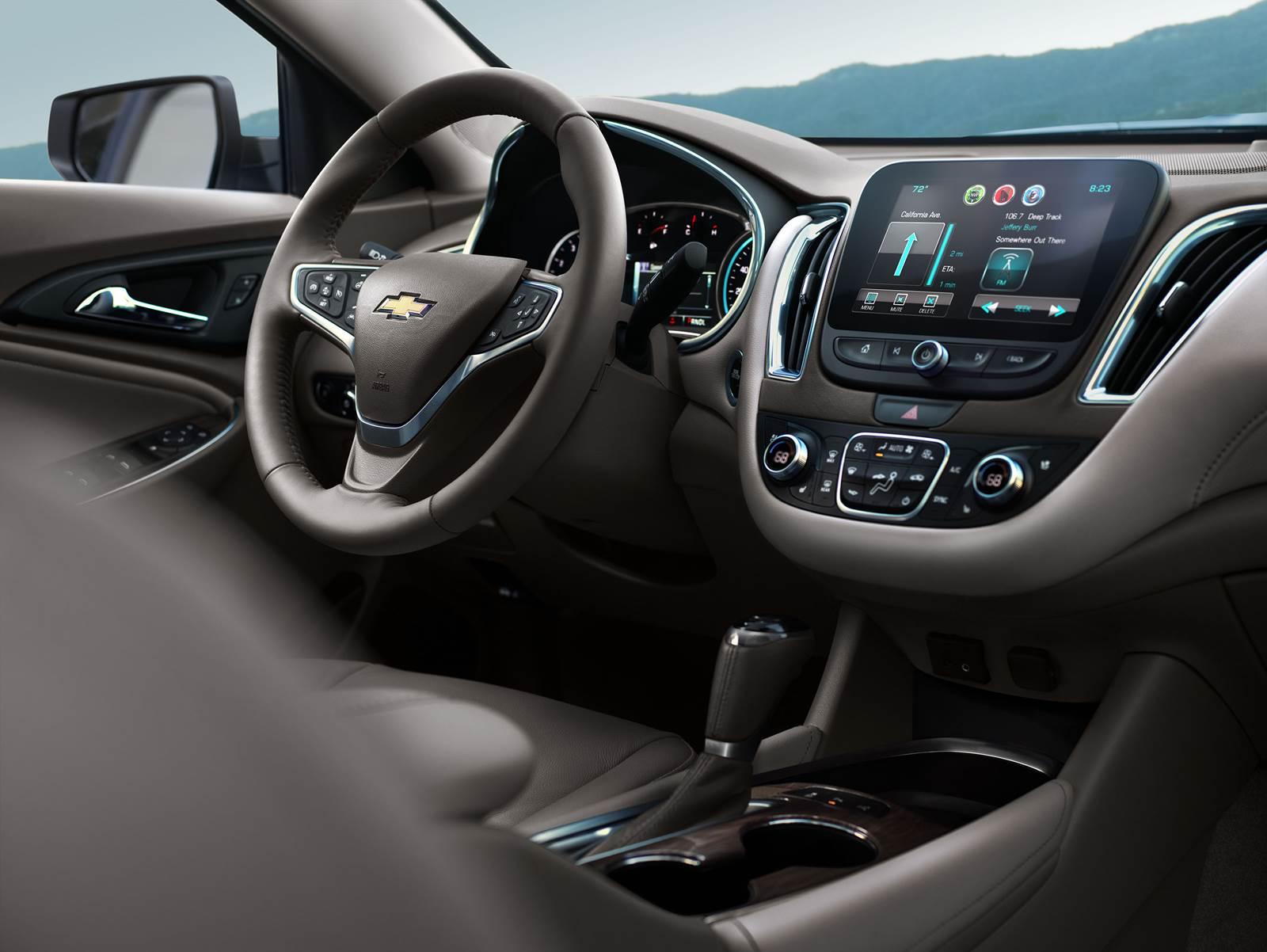 Novo Chevrolet Malibu 2016