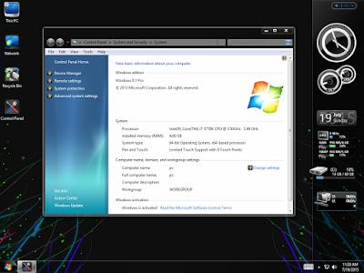 Windows 8.1 Black Pro July 2015 x64 - KIRK
