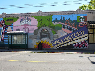 The Wallingford Mural from Across the Street