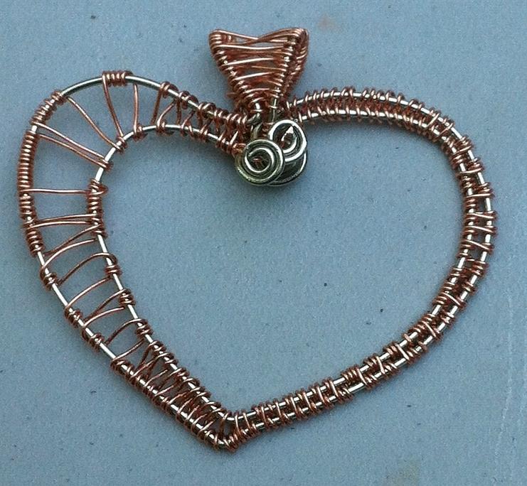 ARTEFACCIO: Cobra, my first wire-weaving...