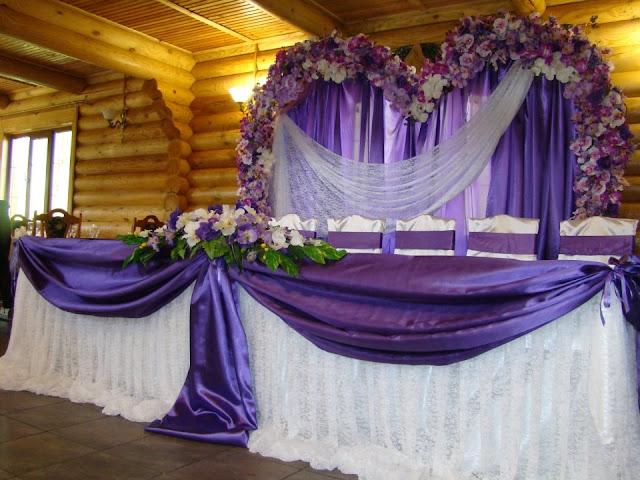 Фіолетово-бузкове весілля, Тернопіль, Україна