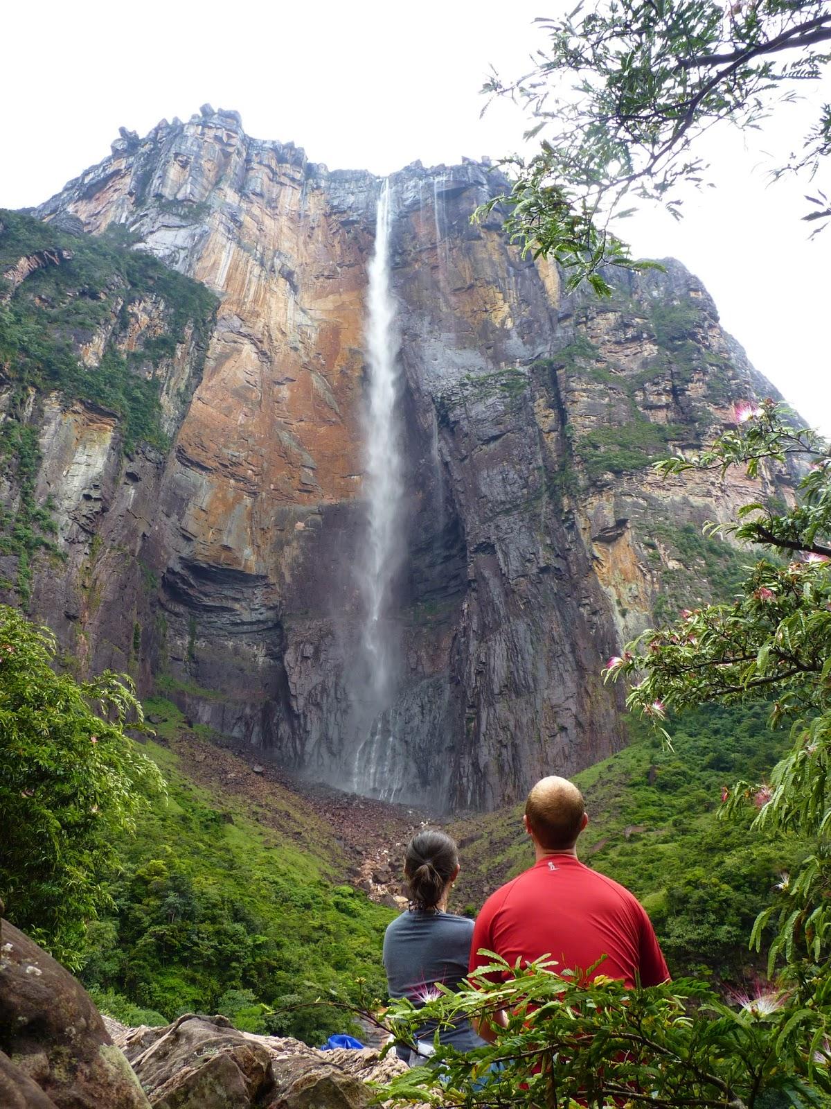 A maior cachoeira do mundo está na Venezuela
