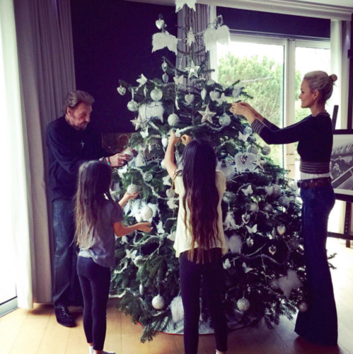 The Best Of Celebrity Christmas Trees @lhallyday - Cool Chic Style Fashion