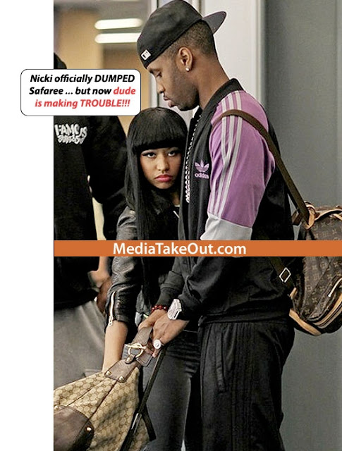 the fresh source nicki minaj dumps her boyfriend safaree
