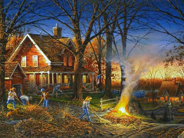 Terry Redlin Autumn Evening4