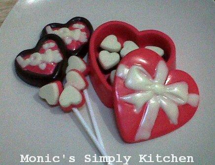 membuat coklat valentine