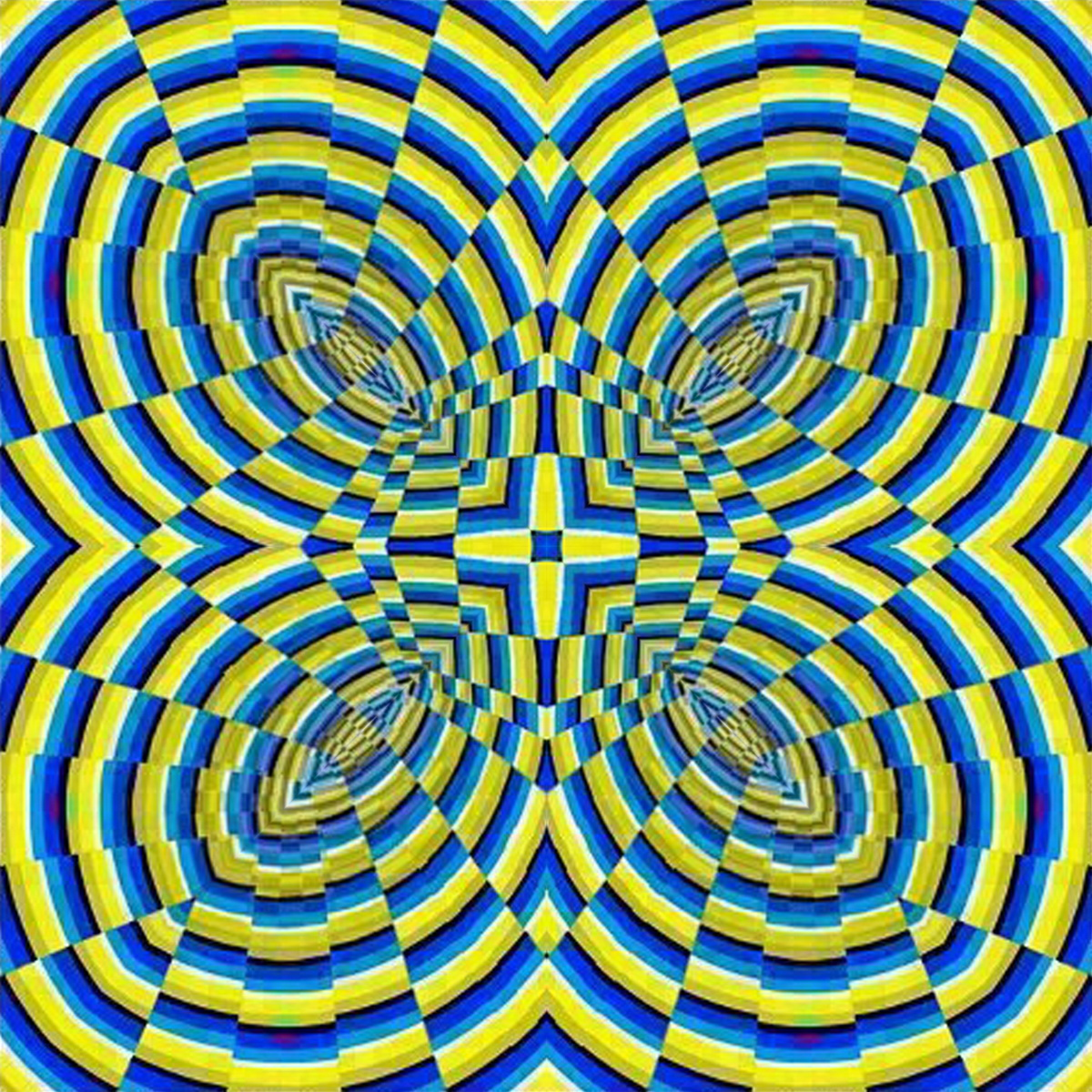 Hermanosaban mandalas fractales efectos visuales y - Imagenes con trucos opticos ...