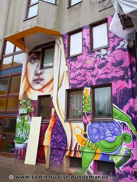 berlin, streetart, graffiti, kunst, stadt, artist, strassenkunst, murale, Emess, Disturbanity, Herr von bias