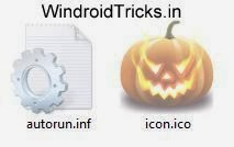 Change icon of pendrive hard disk drive manually