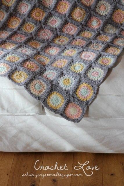 Ein Schweizer Garten: Crochet-Love