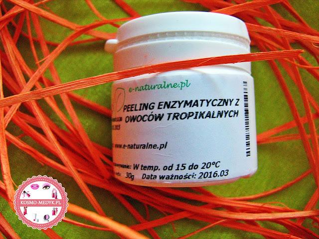 Peeling enzymatyczny z owoców tropikalnych | E-naturalne.pl