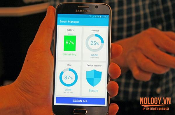 10 tính năng hay trên cặp đôi Galaxy S6 xách tay