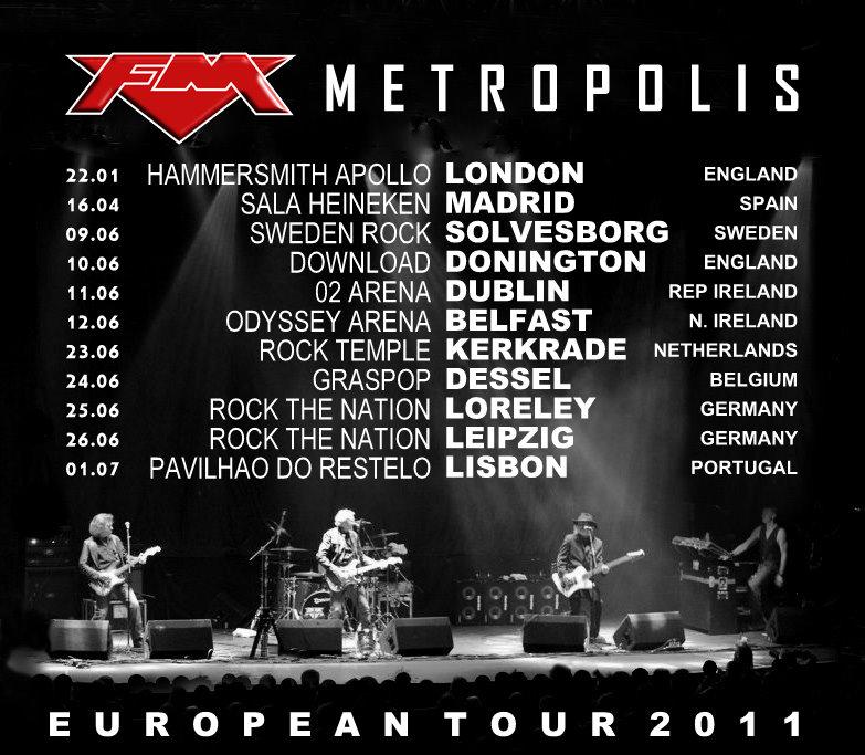 FM - European Tour 2011