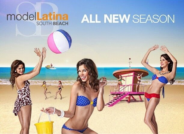 "Watch me on ""Model Latina South Beach"""