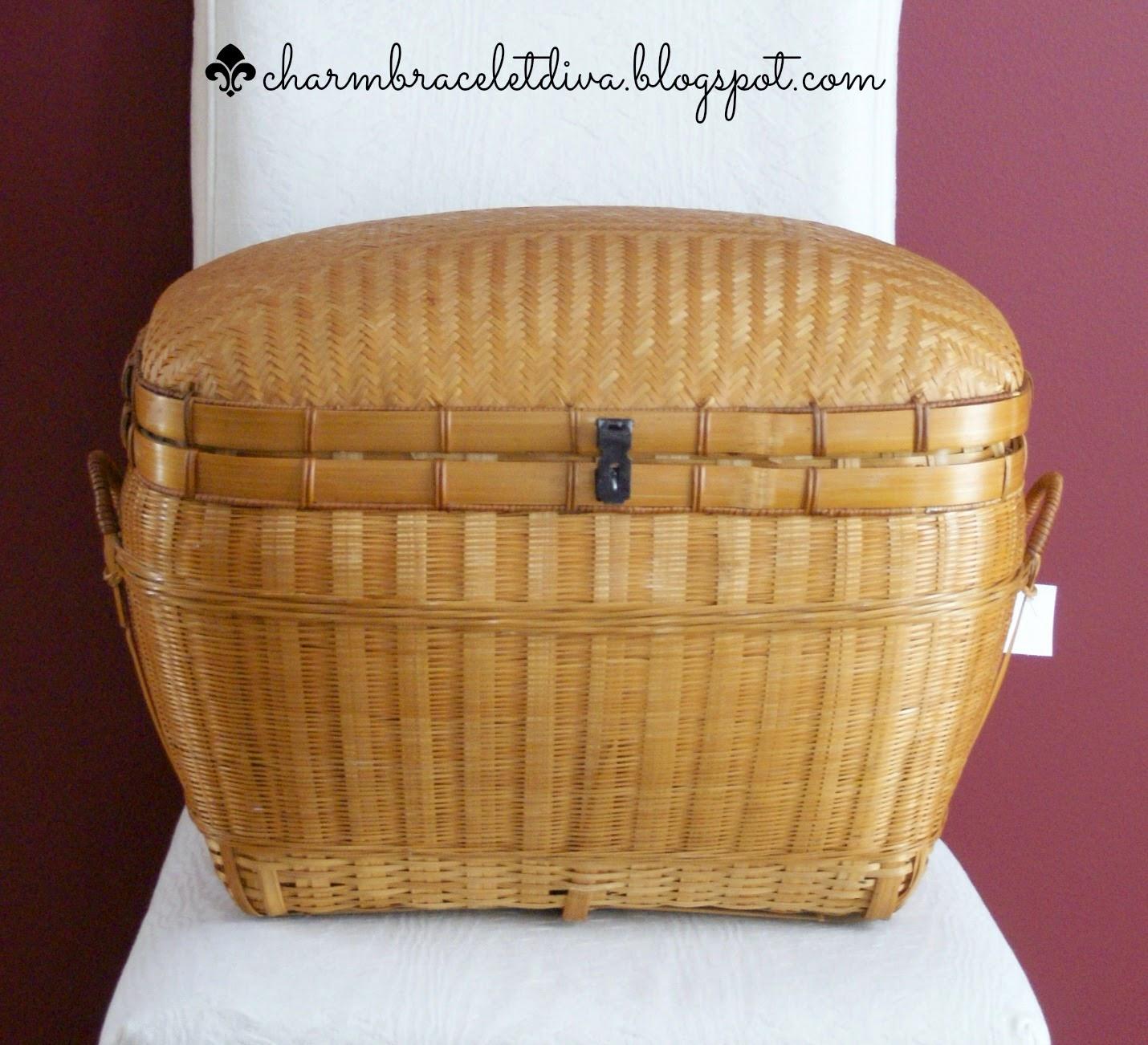 thrifty lidded basket
