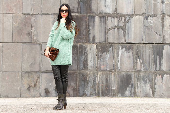 Blogger con zapatos Isabel Marant