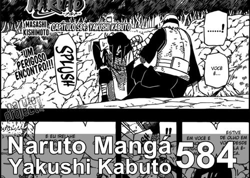 Naruto Mangá capitulo 584 - Yakushi Kabuto