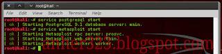 service mwtasploit start