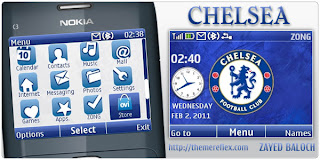 chelsea c3 theme by zb Download Tema Nokia C3 Gratis