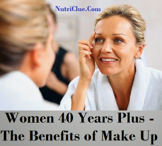 Women 40 Years Plus - The Benefits of Make Up