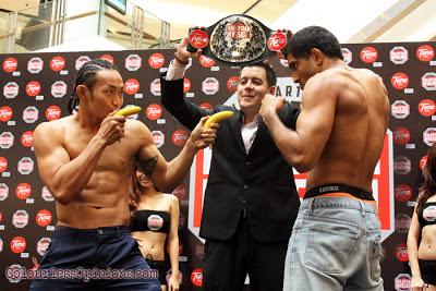 Allen Solomon Chong vs Shammah Chandran MIMMA Grand Finals weigh-ins