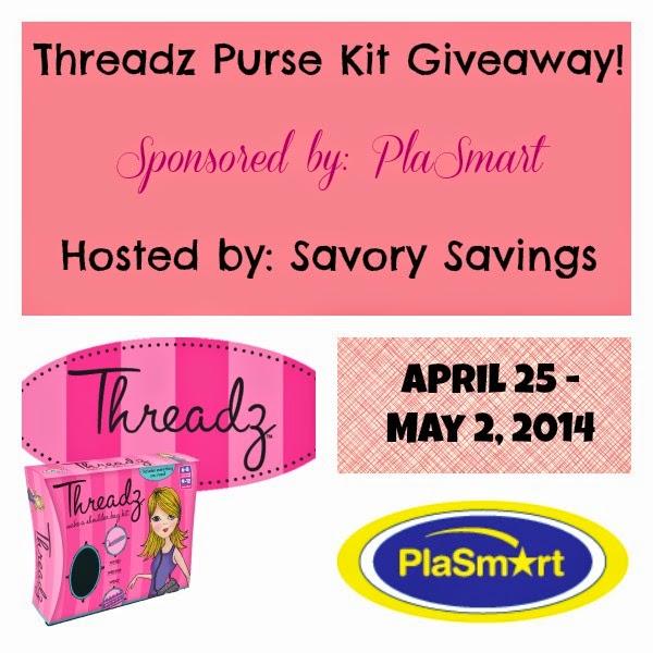Threaz Purse Kit Giveaway
