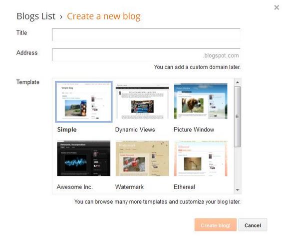 masukan data blog anda