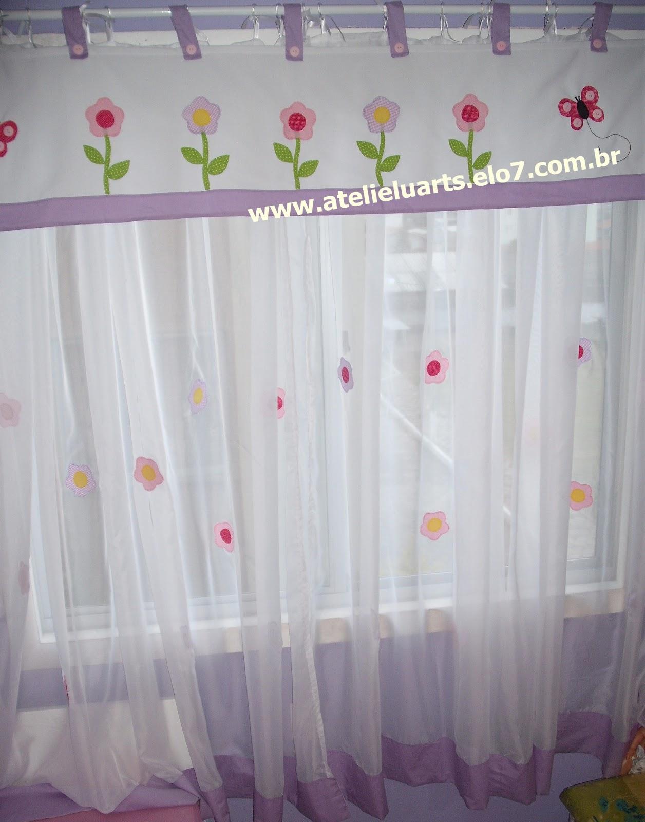 Ateli luarts cortina com band para quarto infantil de menina - Cortinas infantil ...
