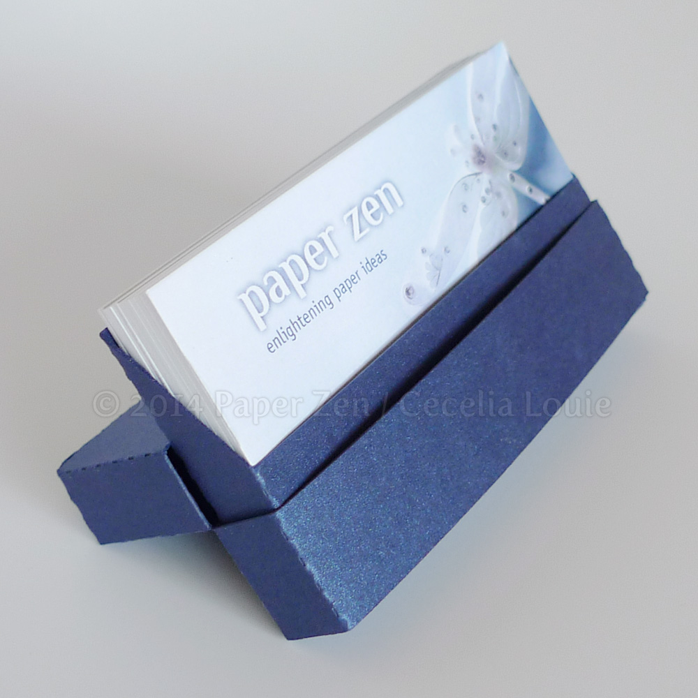 Welcome To Paper Zen Cecelia Louie Business Card Holders Via