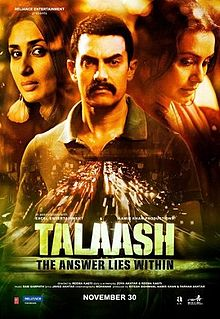 Talaash 2012 - Cover Poster